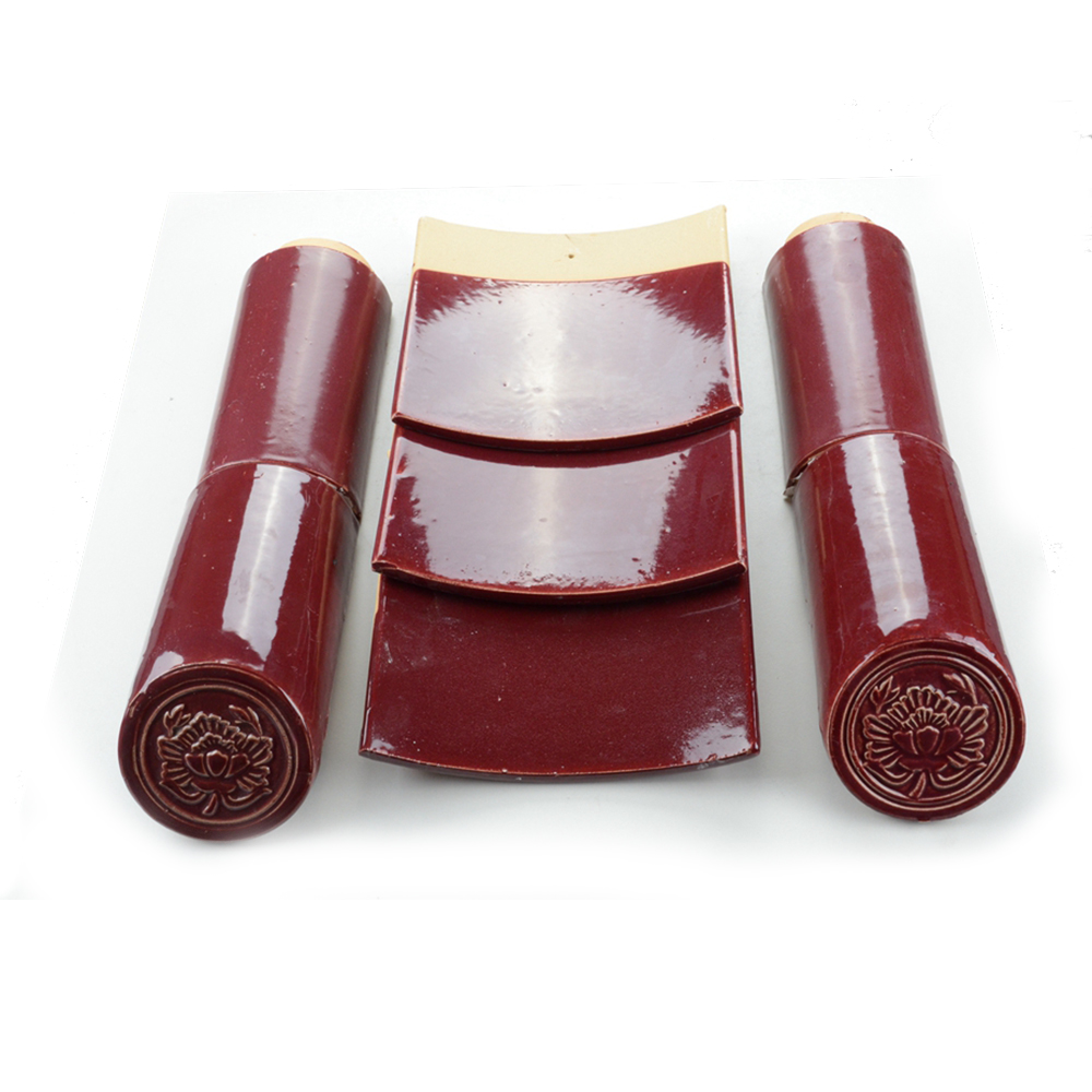 ML-002 purple roof tile/types of roof tiles/different types of roof tiles