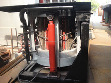 1 ton Cast Iron Melting Induction Furnace