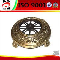 customized die casitng copper plating cap