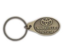 Branded OEM Logo Car Key chain Metal Key ring