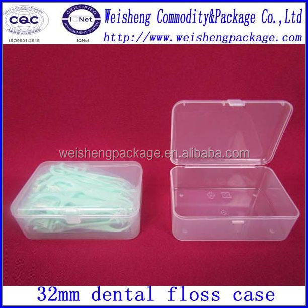 Recyclable Feature and Plastic Material dental floss box