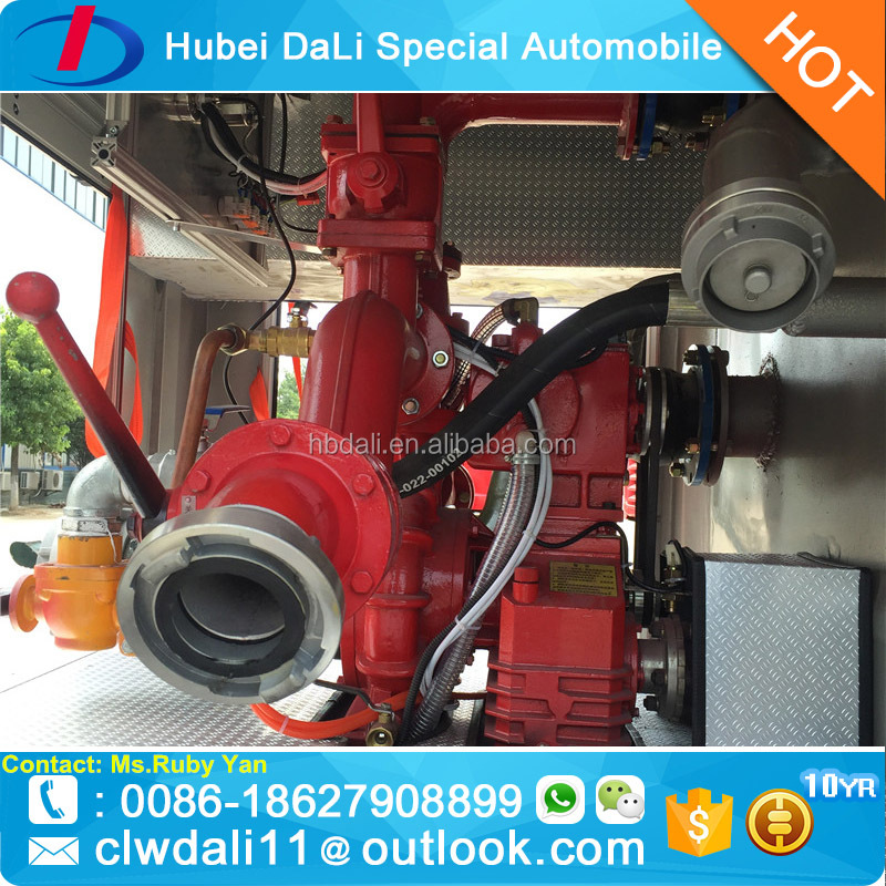 Hot Sale Chemical Dry Powder and Foam Fire Truck for Philippines