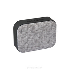 Portable Fabric Blue tooth Speaker Outdoor Indoor Wireless Speaker With Cloth Cover