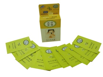 Chinese herbal nose mask