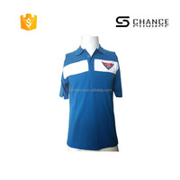 Standard high visibility color combination 100% polo t-shirt