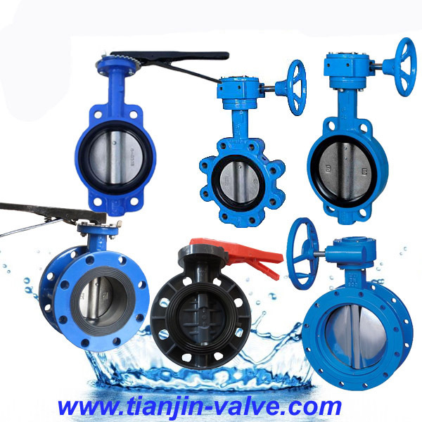 triple eccentric flanged butterfly valve