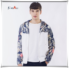 wholesale men xxxxl colorful contrast camouflage sports jackets with hoodie outdoor windbreaker