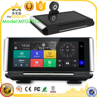 7 Android Car DVR Camera Radar Detectors Dash Camera Parking car dvrs Rearview Mirror Video Recorder 3g gsm 4G LTE gps Navigator