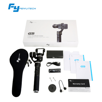 2017 Newest FeiyuTech G5 3 axis Handheld Gimbal for Actioncams