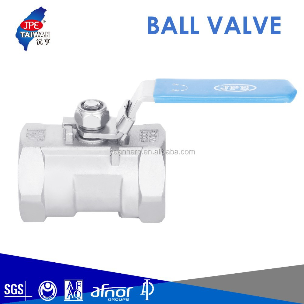 Taiwan Instrumentation SS316/SS304 Ball Valve -1000 PSIG 1PC Reducing Port Casting Ball Valve