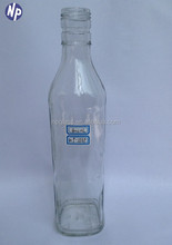 400ml clear glass bottle for Chinese liquor