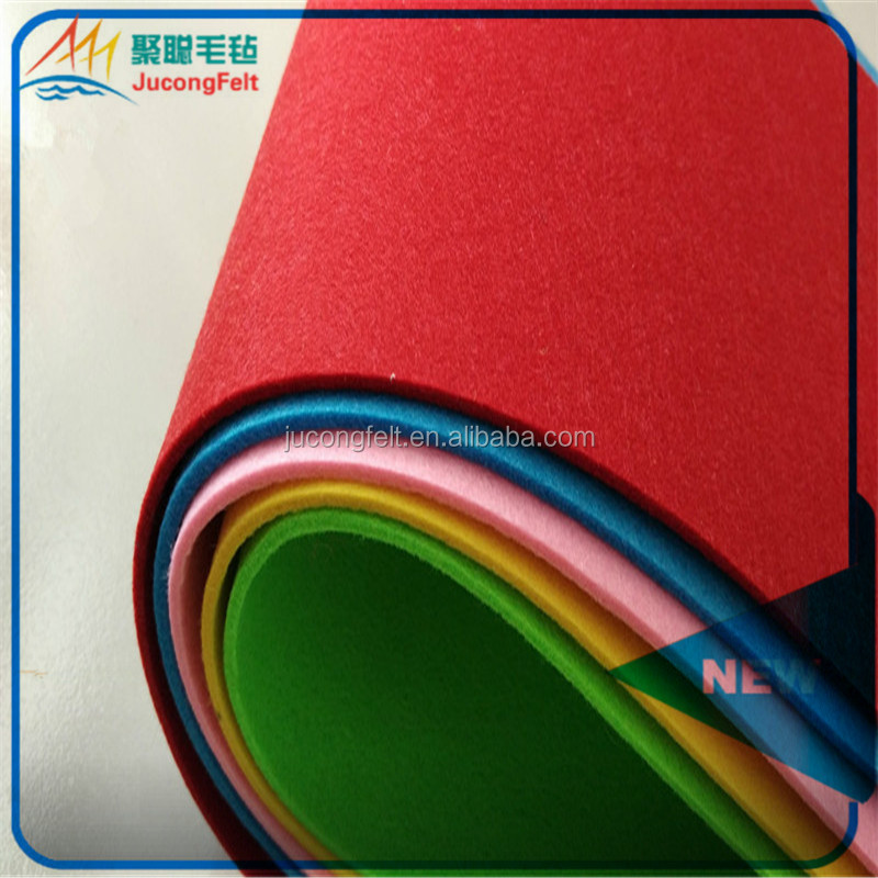 hot sale and colorful thick white wool felt