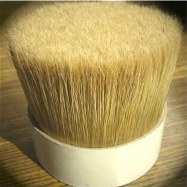 Natural White Boiled Pig Bristles Pig Hair 90% 60% Tops 38-160mm For High Quality In Brush