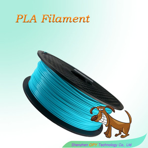 green technology plastic spool 175mm pla 3d printing filament