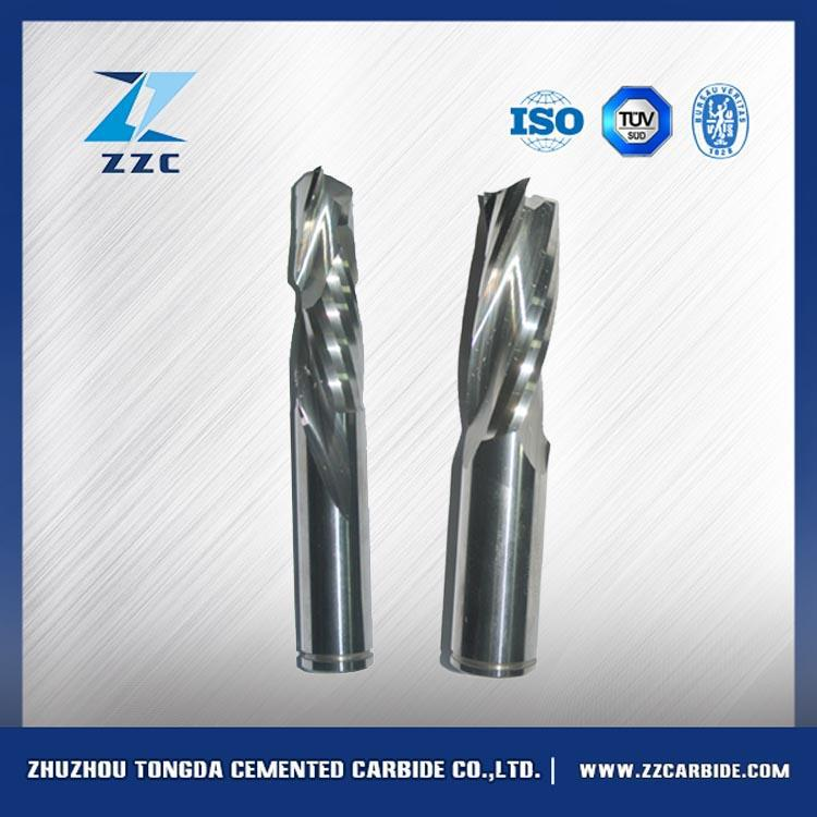 Customed non-standard 3 flute carbide end mills/tungsten carbide cutting tools for aluminum/cnc router bits
