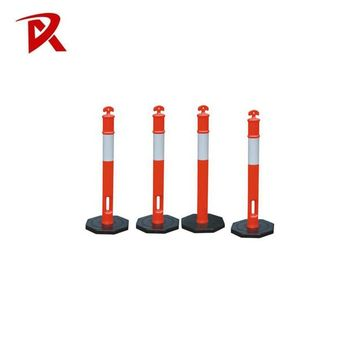 Manufacture reflective delineator post / flexible spring post/ T posts for sale