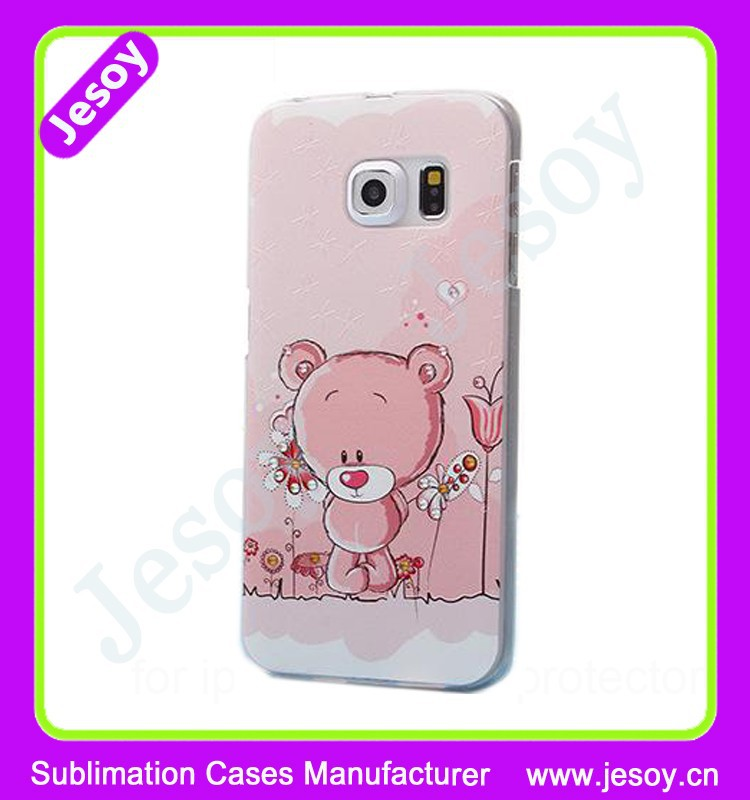 JESOY 2015 Hot Sale Phone Case Printing Service, Custom Phone Cover For Samsung S6 Case Print