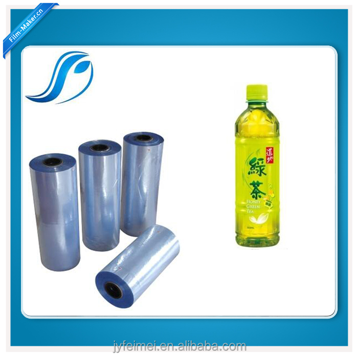 Printing Grade PVC Shrink Film For Sleeve Application Machinery