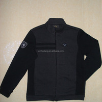 Men Cotton Polyester Fleece Golf Jacket