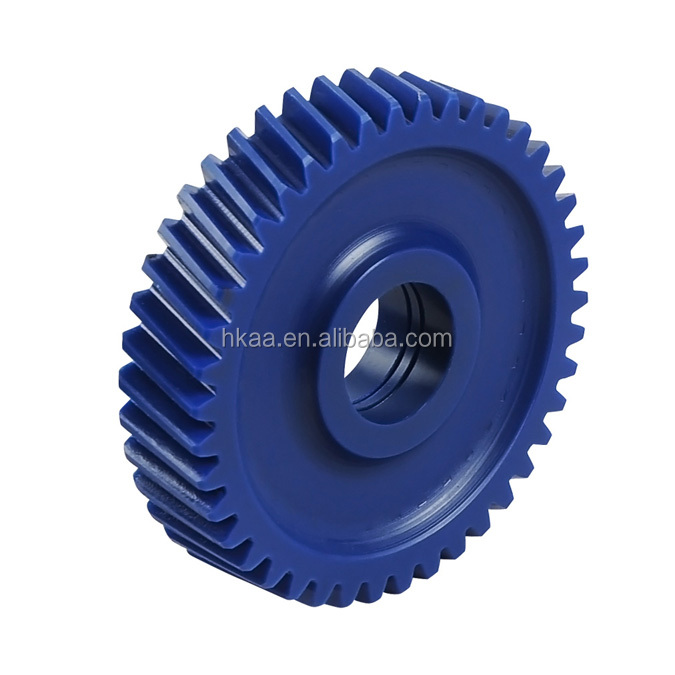 Small plastic nylon pinion helical gears for toys/electric motor/paper shredder
