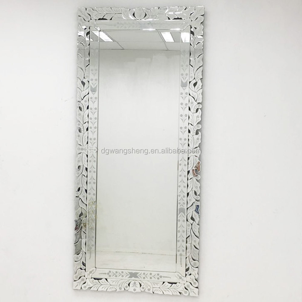 modern fancy dressing room big mirror with factory price