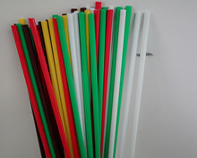 Durable Pultruded Reinforced glass fiber rod Flexible Solid Fiberglass Rods