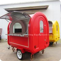 2013 Hot Outdoor Mobile Gasoline Kitchen Food Cart Van with Wheels XR-FC220 B