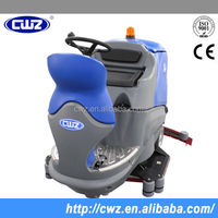 Industrial commercial large ride on floor washing cleaning scrubber machine