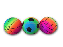 Wholesale Inflatable pvc rainbow ball