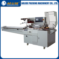 Servo Motor Driven Type Automatic Baked Bread.Application Packing Machine ALD-600W