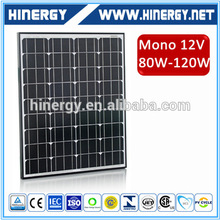 solar panels 80watt mono high quality 80w solar modules 36 cells pv 80w