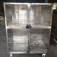 Factory sale use easy clean rabbit cage/dog kennels crates/pet dog breeding cages