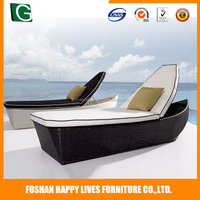 Professional supplier of new product open weaving cheap outdoor patio daybed