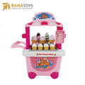Icy cream shop store play set toy pretend play kitchen for girls