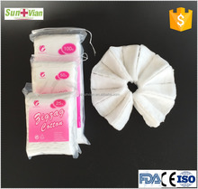 hygienic disposable absorbent zigzag cotton wool 500g