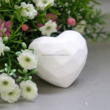 Eco-friendly Scented Ceramic Heart Car Air Freshener