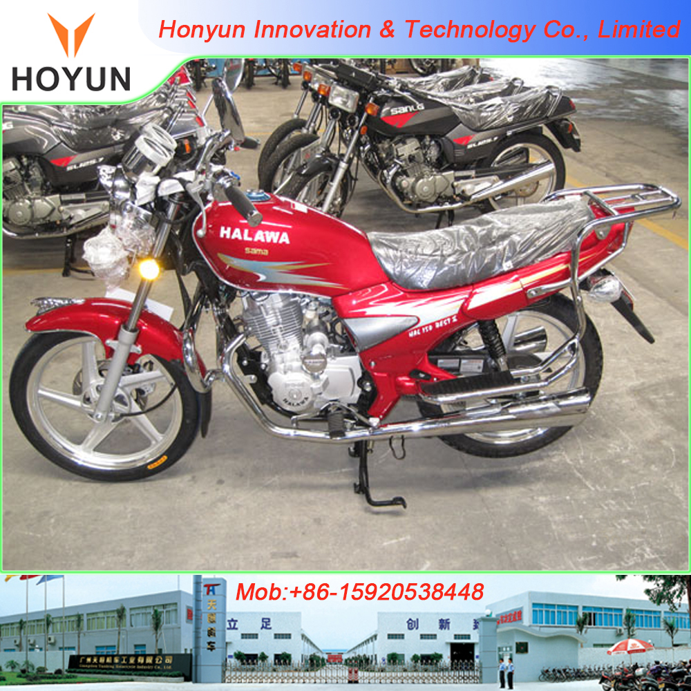 Hot sale in Egypt SYM Haojiang Dayun SANLG Senke HALAWA HAL 150 Best SL125-4 motorcycles