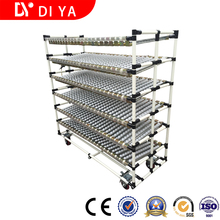 DY75 Roller Track Pipe Rack System and Pipe Rack Storage