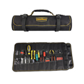 Waterproof roll up folding rolling tool bag for carpenter