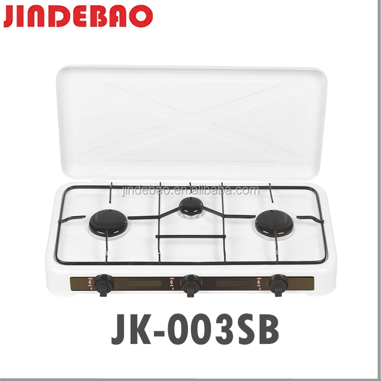 JK-003SB Outdoor picnic portable cooker europe popular three burner gas stove