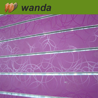 interior mdf wall decorative paneling/slatwall mdf/slotted mdf