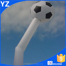 Popular Inflatable Direction Sign,Inflatable Dancer,Inflatable Sky Man Mini Air Dancer With Soccer Ball