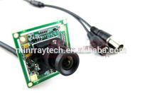Hot Promotion 700 TVL 3.6mm Lens Color Sony CCD Effio Board CCTV Camera Board for CCTV Security 32*32