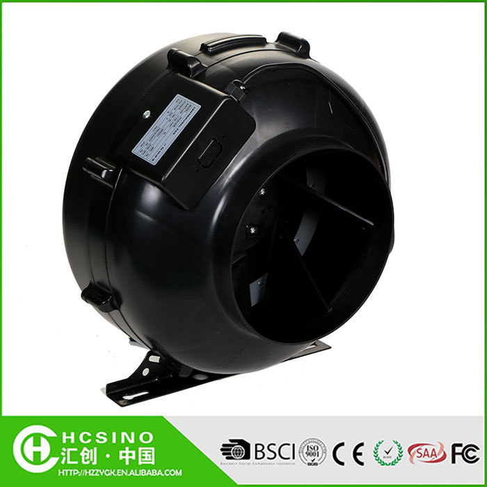 China wholesale install plastic circular inline duct fan / centrifugal fan