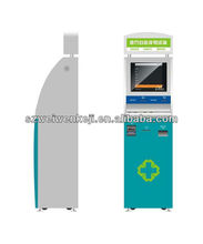 multi functional self service kiosk hospital with touch screen