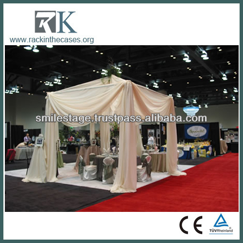 RK Pipe and drapes for exhibition modular display stands hot sale in USA