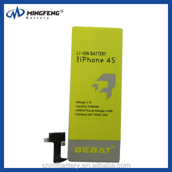 0 cycle brand new original/oem for iphone 4/4s/5/5s Battery, high capacity battery with tools