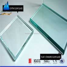 4mm Ultra white tempered glass for solar panels