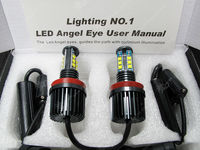 hot sell 2015 new products High power CR-EE 120W H8 LED Marker Angel Eyes for BMW E91 E92 E93