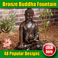2016 New Design High Qulaity Bronze Buddha Fountain for Garden Decoration (Customized Service)